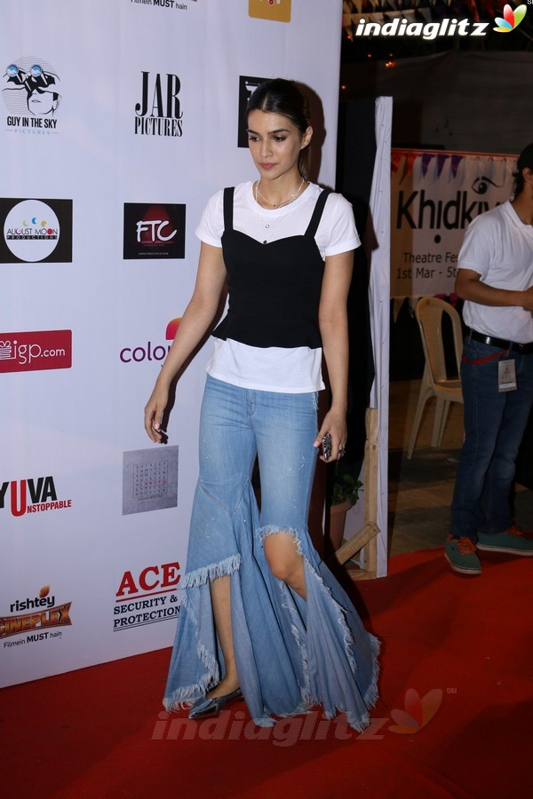 Aditya, Kriti, Huma at 2nd Edition Of Colours Khidkiyaan Theatre Festival