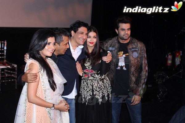 Aishwarya Rai Bachchan at Music Launch of Marathi Film 'Hrudayantar'