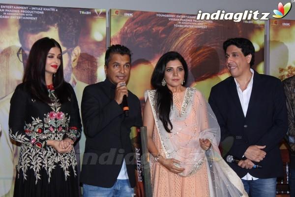 Aishwarya Rai Bachchan at Music Launch of Marathi Film 'Hrudayantar'