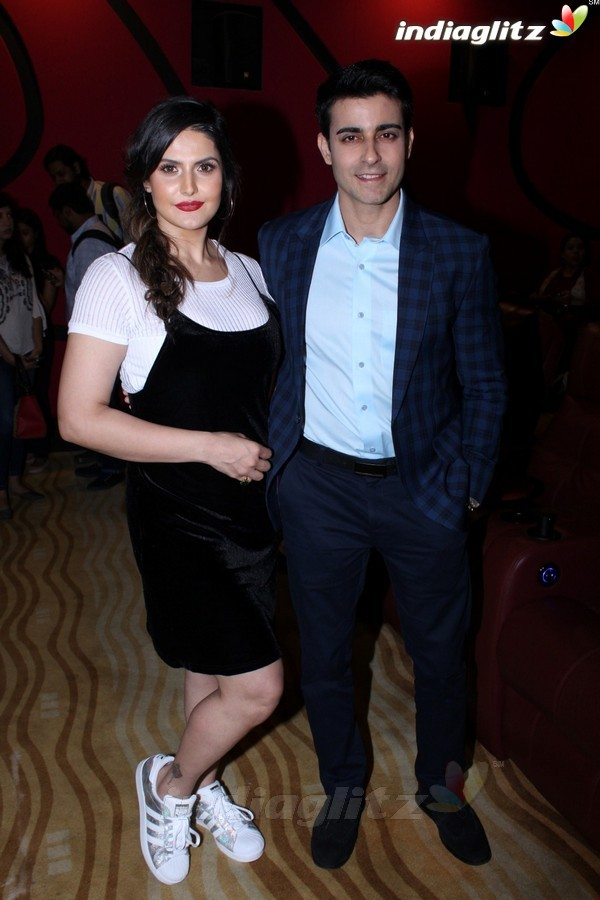 Zareen Khan & Gautam Rode at Trailer Launch of 'Aksar 2'