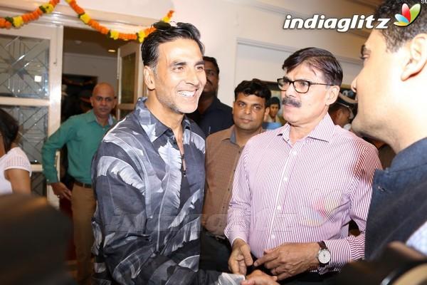 Akshay Kumar at 'Veerappan - Chasing The Brigand' Book Launch