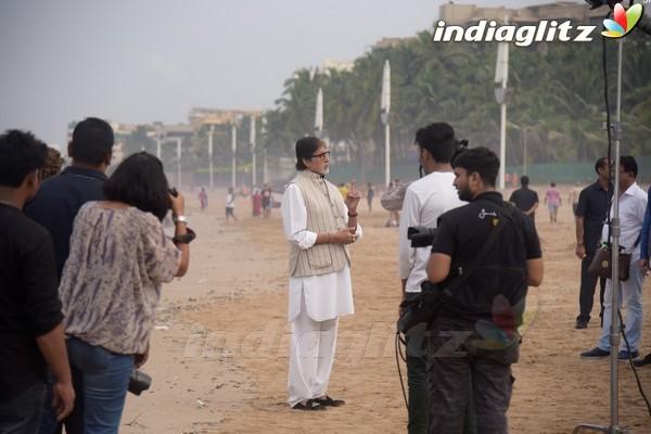 Amitabh Bachchan, Anupam Kher Celebrate Rashtriya Swachhta Diwas