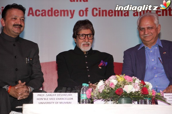 Amitabh Bachchan Launches Ramesh Sippy's Academy of Cinema & Entertainment