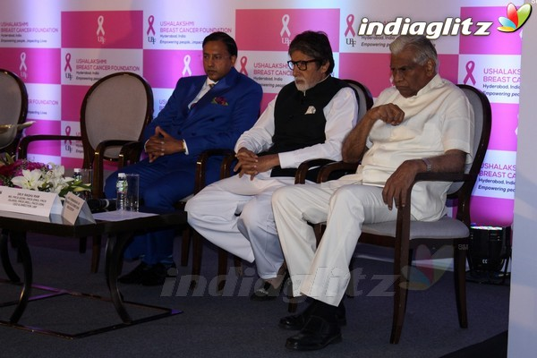 Amitabh Bachchan at Launch of World's 1st Mobile App on Breast Health