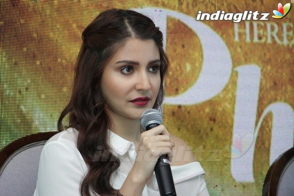 Anushka Sharma & Diljit Dosanjh at 'Phillauri' Press Meet