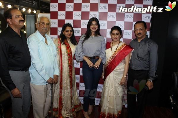 Ayesha Takia at Grand Opening of Stars Cosmetics Brand Store & Academy