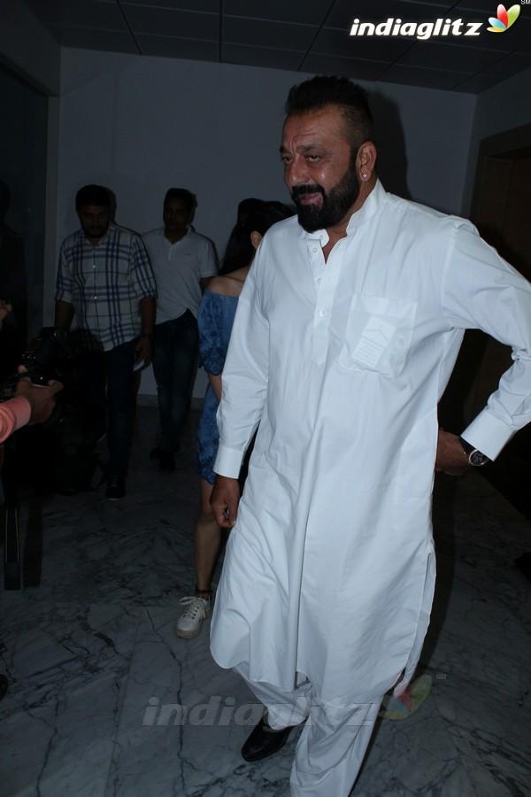 Sanjay Dutt & Aditi Rao Hydari at 'Bhoomi' at Fever 104 FM