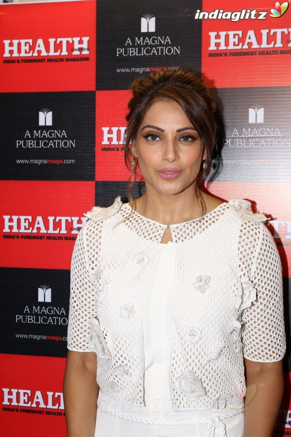 Bipasha Basu Unveils Health Magazine Latest Cover