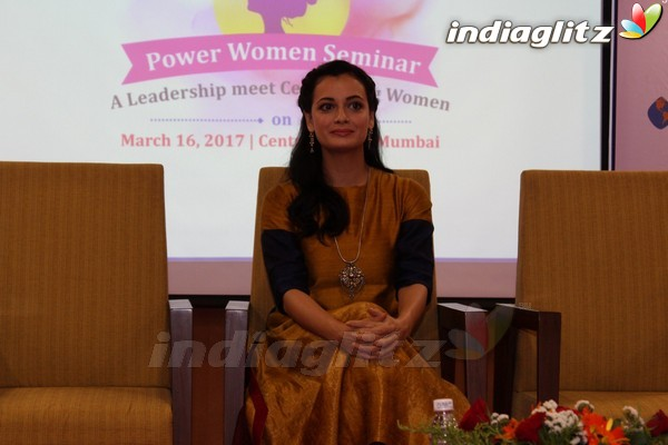Dia Mirza attends Power Women Seminar
