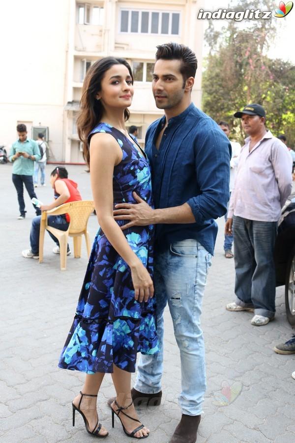 Varun Dhawan & Alia Bhatt at 'Badrinath Ki Dulhania' Media Interview