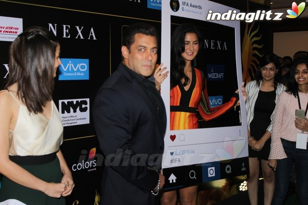 Salman, Katrina, Alia at IIFA Awards 2017 Press Meet