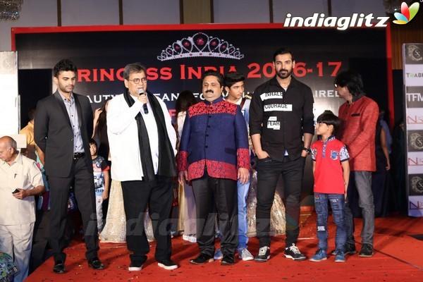 John Abraham, Amyra Dastur attend Princess India 2016-17