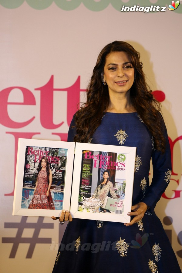 Juhi Chawla at Better Homes 10th Anniversary Celebration & Cover Launch