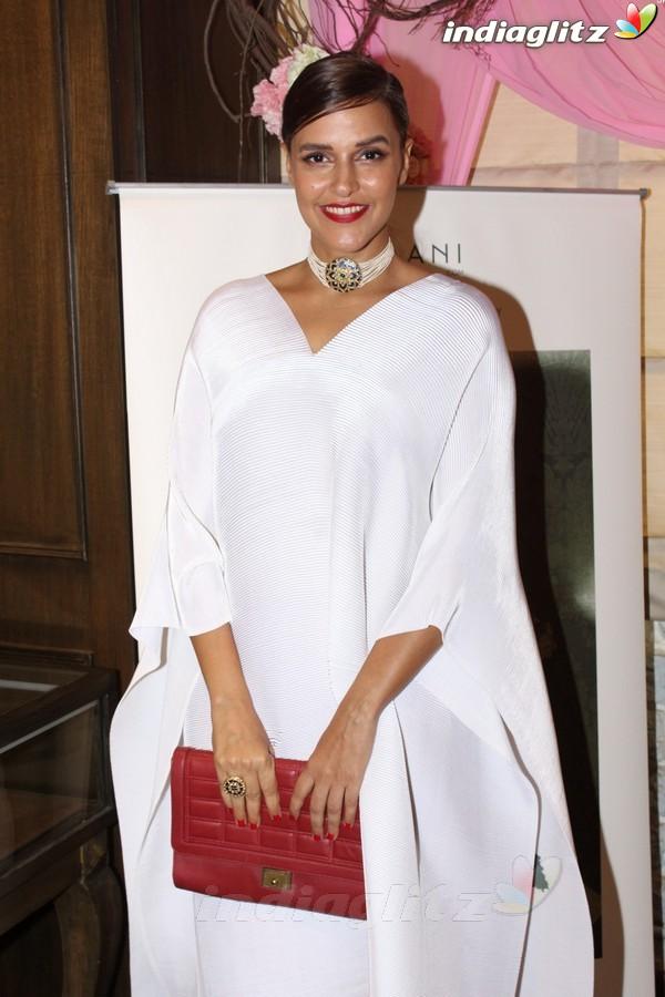 Karan Johar & Neha Dhupia at Launch of Tyaani Flagship Polki Jewellery Store