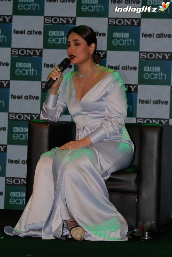 Kareena Kapoor Khan Launches New Channel Sony BBC Earth