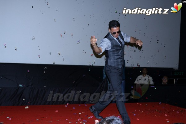 Akshay Kumar, Mustafa & Kiara Advani at Song Launch 'Tu Cheez Badi Hai Mast Mast'