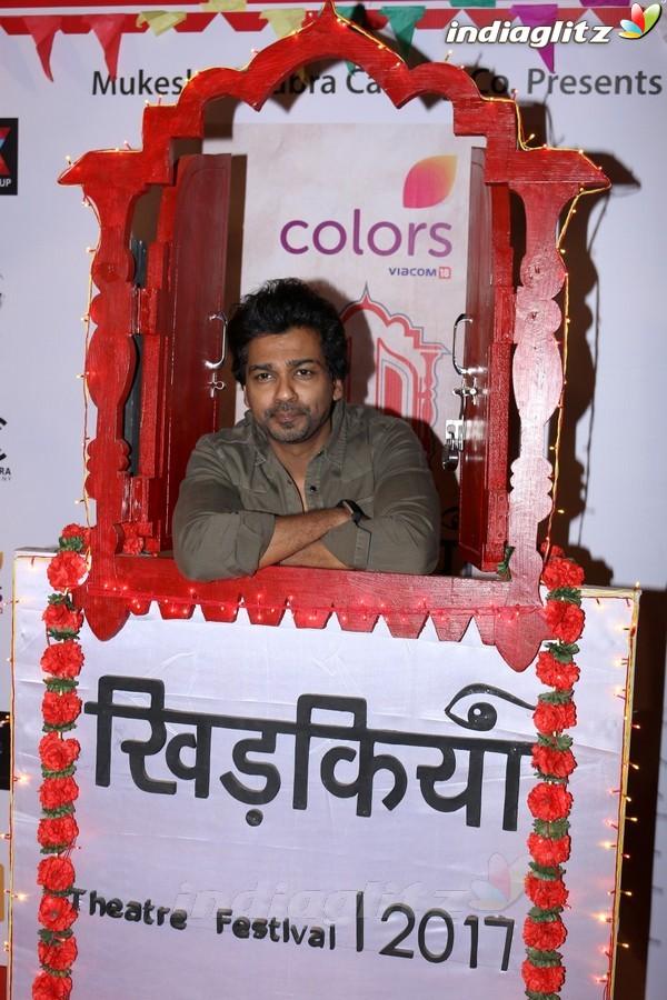 Taapsee, Manoj Bajpai, Manisha Koirala, Kiran Rao at Colors Khidkiyaan Theatre Festival