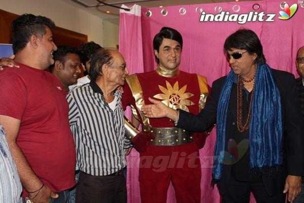 Mukhesh Khanna Inaugurates his Website & Shaktiman Wax Statue