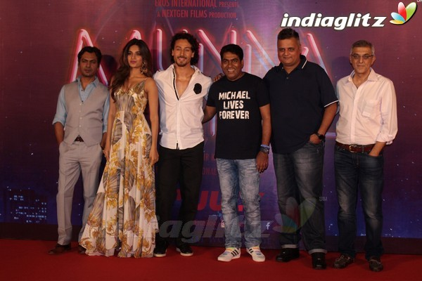 Tiger Shroff, Nawazuddin Siddiqui, Nidhhi Agerwal at 'Munna Michael' Trailer Launch