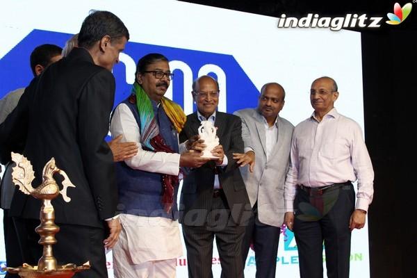 Poonam Pandey at Bharat Prerna Awards 2017