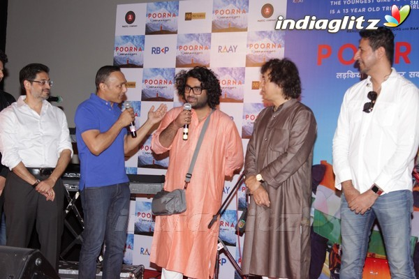 Music Launch of Film 'Poorna'
