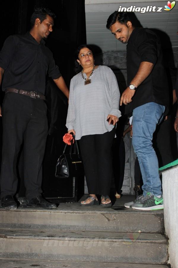 Priyanka Chopra Spotted at Hakkason Restaurant Bandra