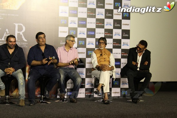 Amitabh Bachchan, Yami Gautam, Amit Sadh at 'Sarkar 3' Trailer Launch