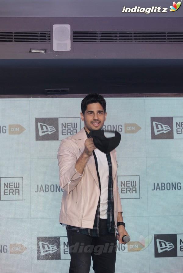 Sidharth Malhotra at Jabong International Sports Brand Launch