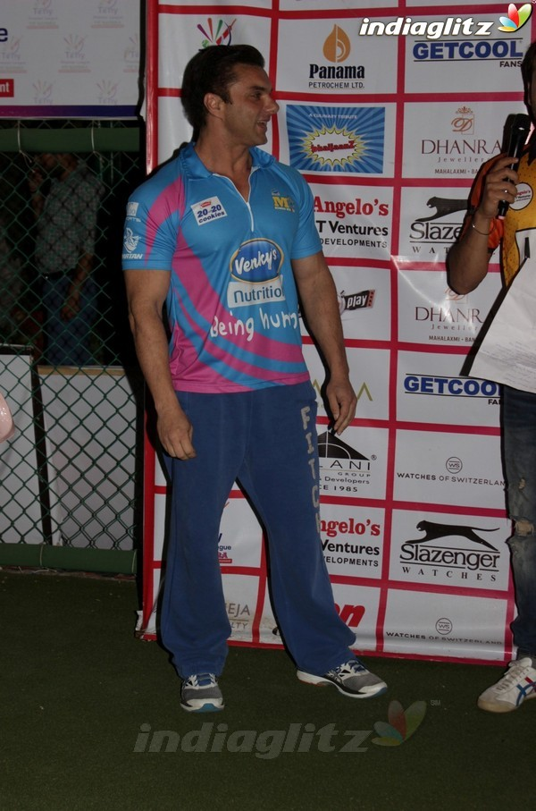 Sohail Khan & Bobby Deol at Match of Tony Premiere League