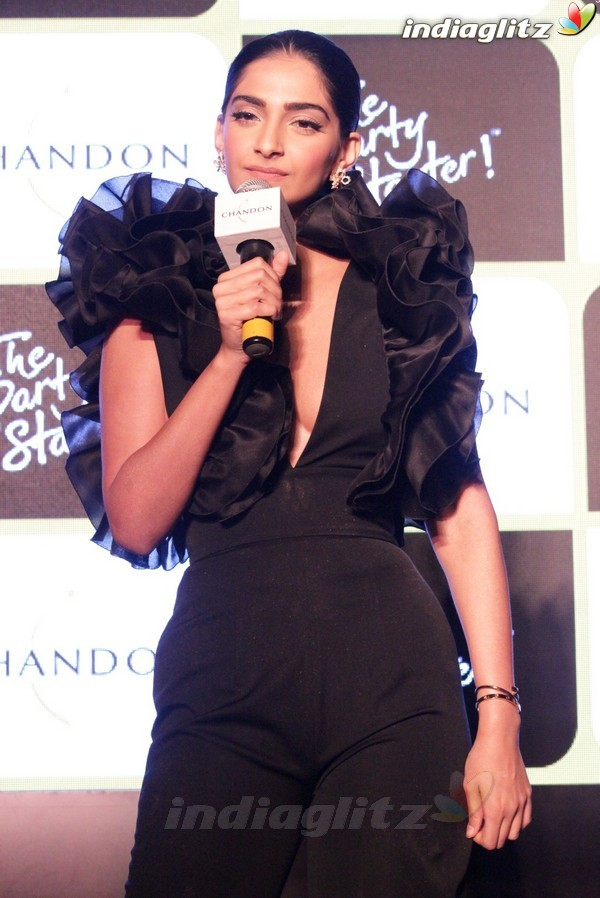 Sonam Kapoor at Chandon's Party Starter Song