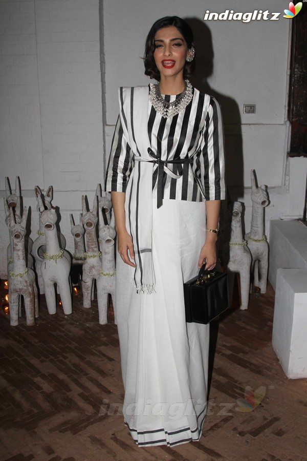 Sonam Kapoor, Soha, Konkona at Raw Mango's Store Launch