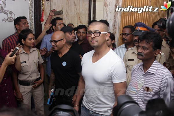 Sonu Nigam at Press Conference for Azaan Controversy