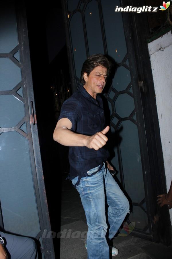 Shah Rukh Khan & Imtiaz Ali Spotted at Korner House