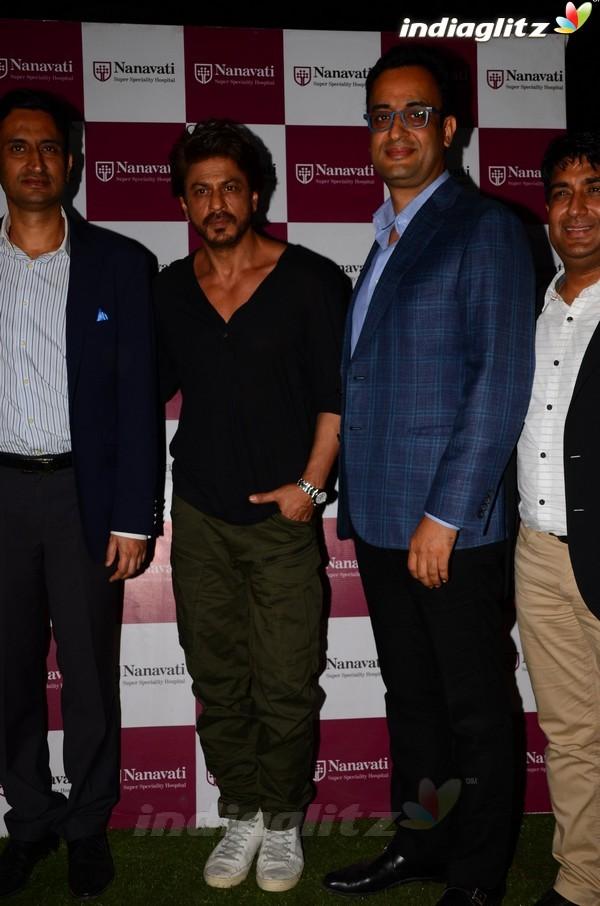 Shah Rukh Khan Launches Bone Marrow Transplant Centre at Nanavati Hospital