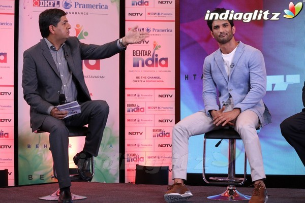 Sushant Singh Rajput at Behtar India Campaign Launch