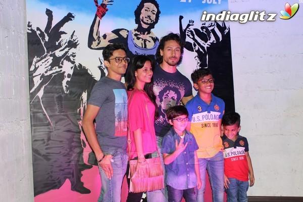 Tiger Shroff Unveils Graffiti Artwork of Ravi Kaul
