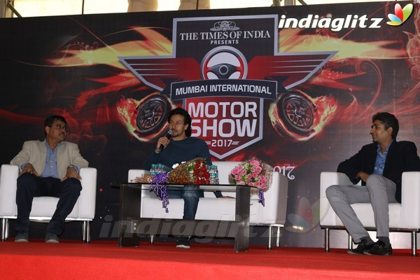Tiger Shroff Launches Mumbai International Motor Show 2017