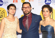 Aamir Khan & his 'Dangal' daughters at JIO MAMI 18th Mumbai Film Festival