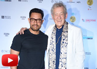 Aamir Khan & Ian Mc Kellen at Launch of MAMI Film Club