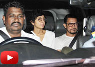 Aamir Khan & Kiran Rao Watch 'Pink' With 'Dangal' Team