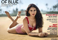 HOT! Aditi sexy in Swimsuit on Condenast Traveller cover