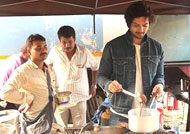 Ali Fazal gives a YUMMY Treat to 'Fukrey Returns' team!