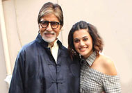Big B & Taapsee's movie plans with the President!