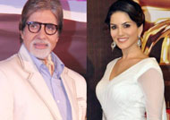 Big B and Sunny Leone are HOTTEST Vegetarian Celebrities