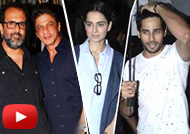 SRK, Kangana, Sidharth, Huma at Anand L. Rai's Birthday Bash 2016