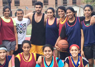 Arjun and Shraddha sweats it off on the basketball court: See Pic