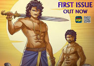 Baahubali's comics novel released