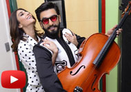Ranveer Singh & Vaani Kapoor Promote 'Befikre' at Radio Mirchi