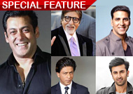 Salman ahead of SRK in World's Richest Celebrity List: Forbes