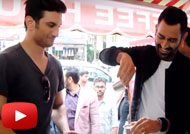 WATCH Dhoni & Sushant Sipping Filter Coffee in Chennai
